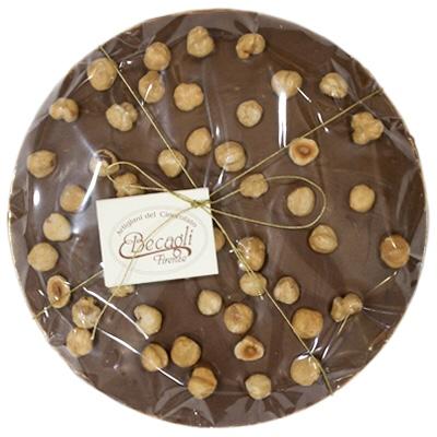 Torta di cioccolato latte packaging