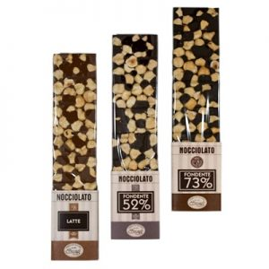 Tris nocciolato 220g packaging